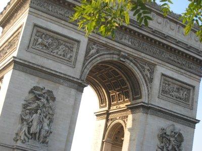 and the Arc de Triumphe.