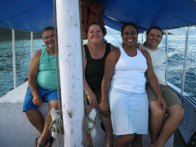 Angra family who helped us