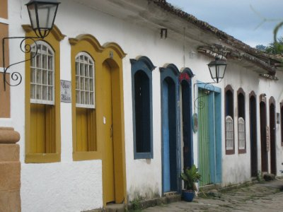 Paraty old town doors