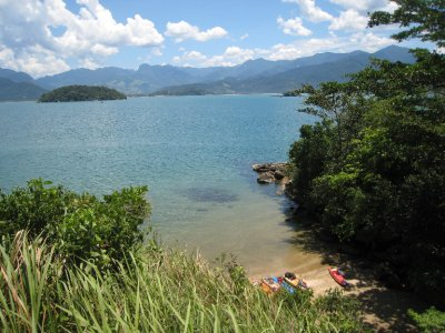 Paraty view from forte