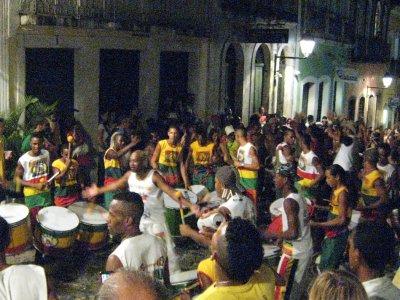Salvador, drum core parade 2