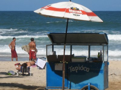 Itacare, beach vendor