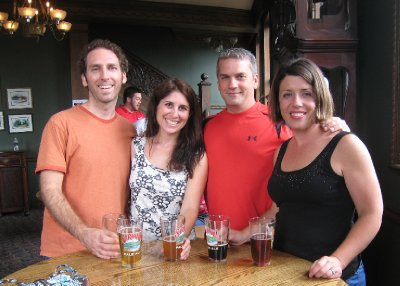 In June, we visited Jessica and Dave in Deansboro, and my Dave enjoyed his first Saranac Brewery tour.