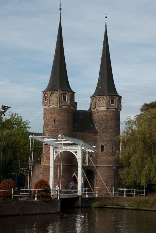 Delft Castle bridge