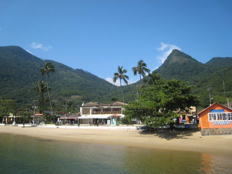 Ilha Grande view from boat