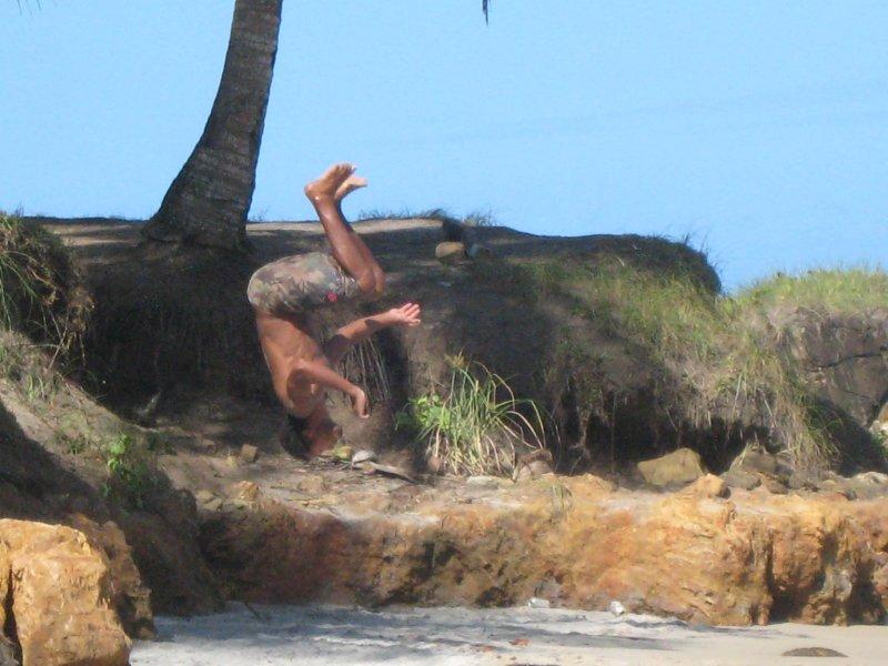 Itacare, Leo capoeira 2