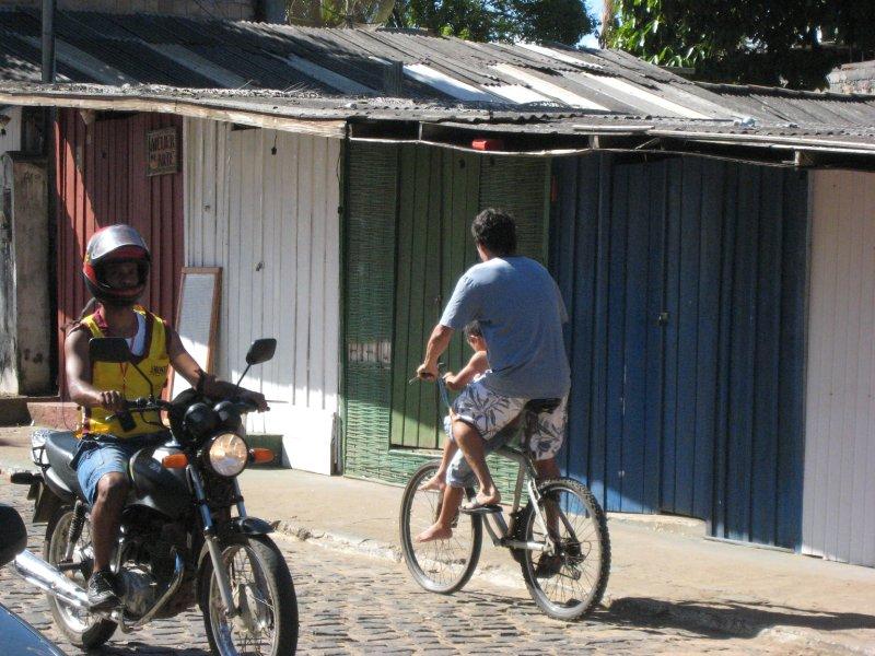 Itacare, main street