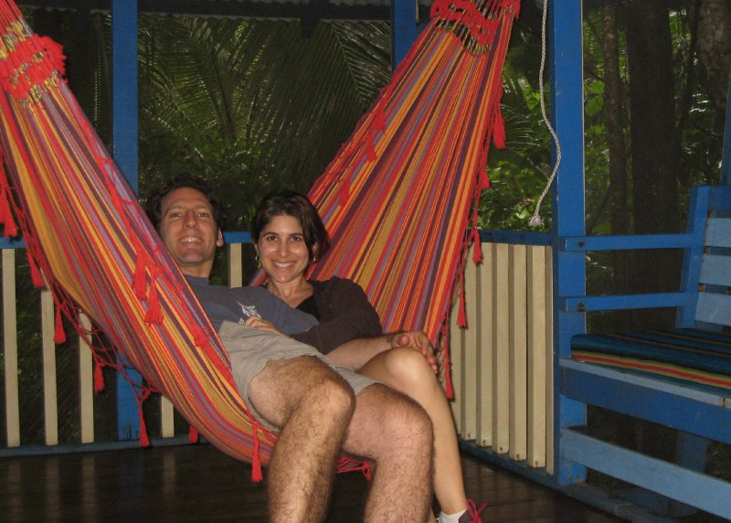Hammocking in Puerto Viejo