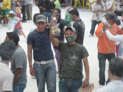 Carnaval Blancos Negros in Pasto Colombia