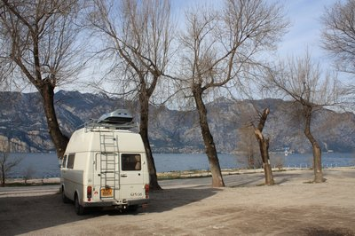 Lake Garda Van Parked