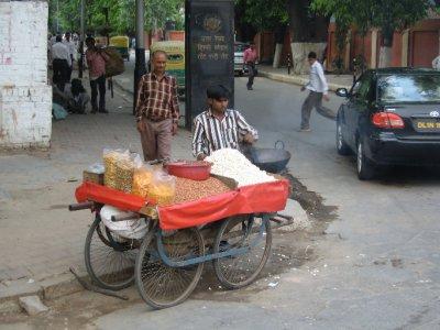 Street Seller Delhi
