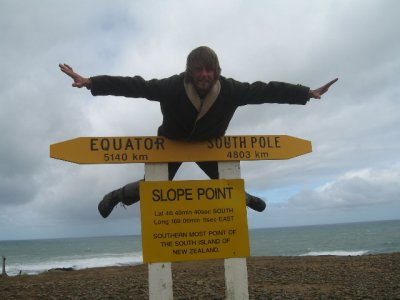 The most southerly part of New Zealand