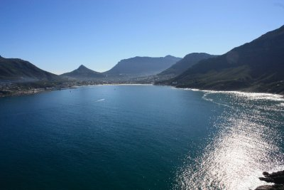 View from Chapmans Peak