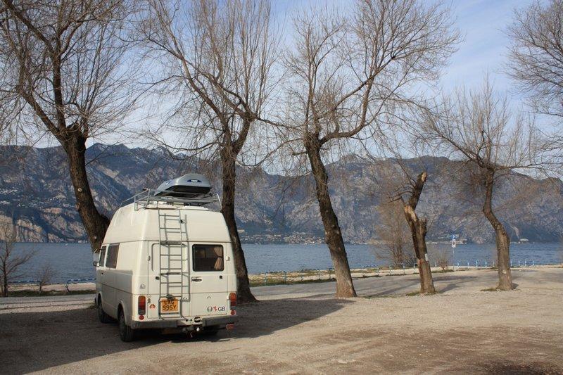Lake Garda Van Parked