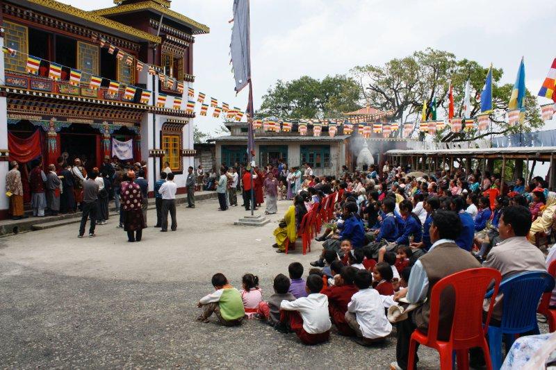 Stupa Darjeeling