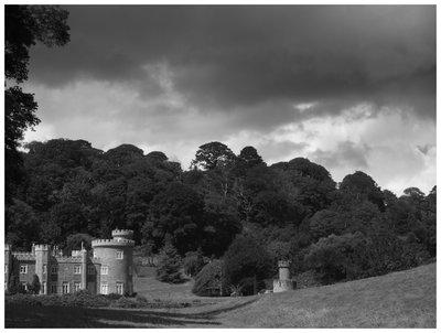 Caerhays Castle, St. Gorran. Cornwall.