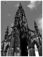 Edinburgh, Scott Monument...