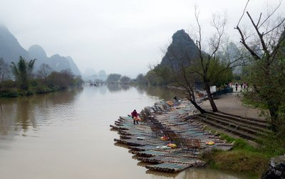 Yulong river rafts