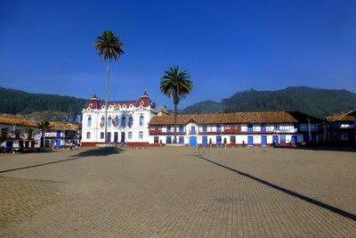 Main square Zipaquira