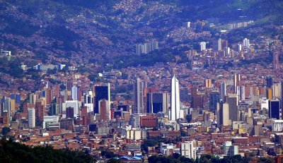 Medellin from above