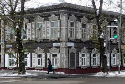 Wooden Architecture Irkutsk