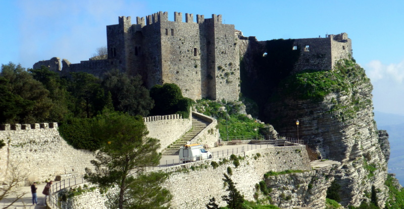 Valderice Italy  City new picture : Erice Castle Valderice, Italy Travellerspoint Travel Photography