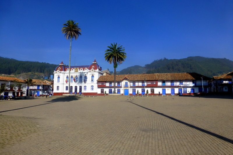 Main square Zipaquira