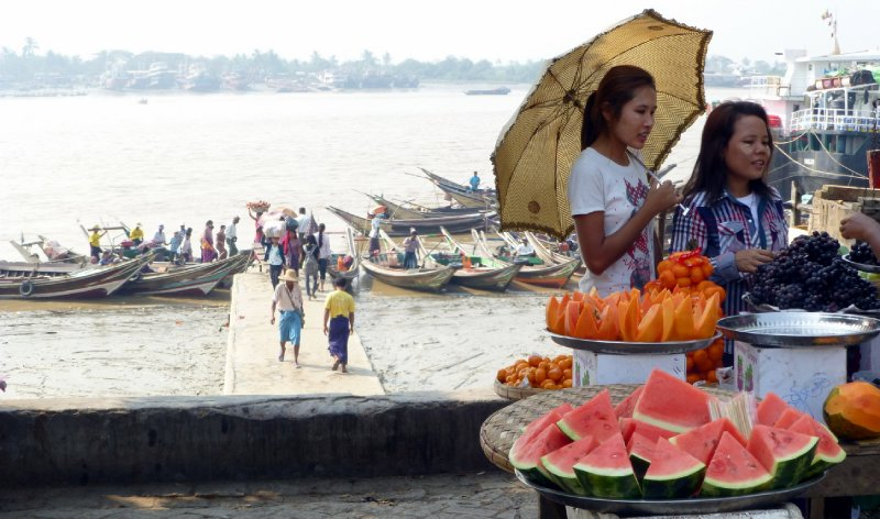 Shades in Yangon