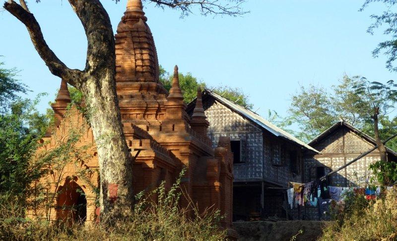Village stupa