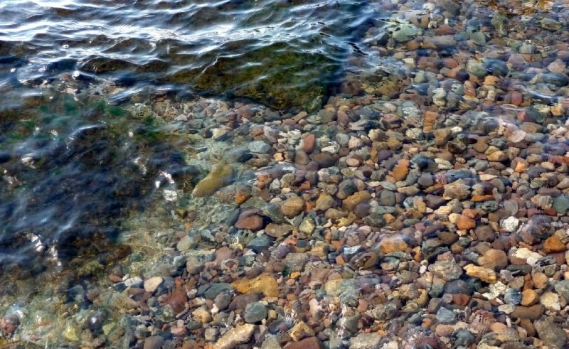 Clear water: Lake Baikal