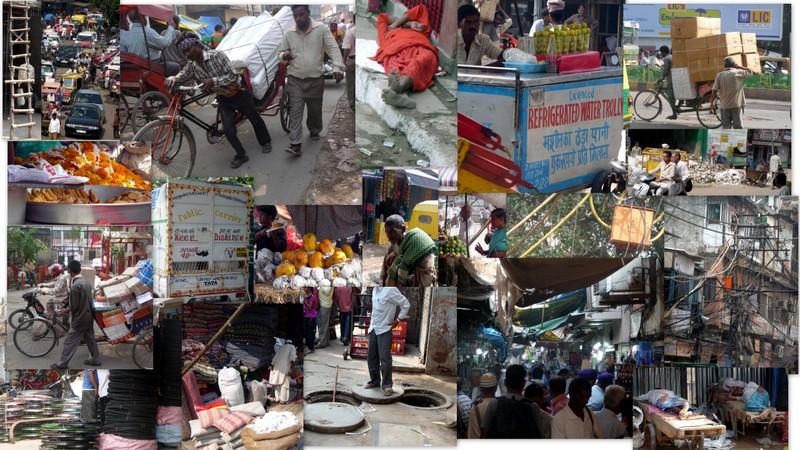 Scenes of Old Delhi