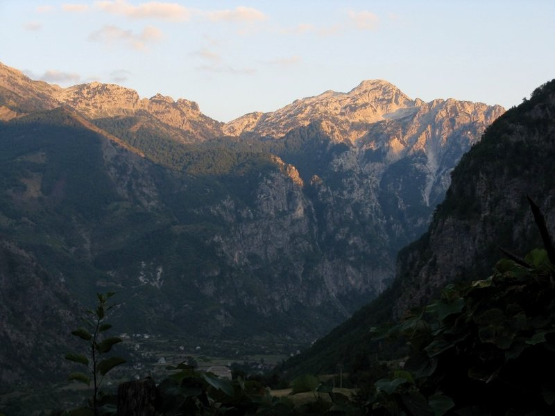 Suset at Thethi valley
