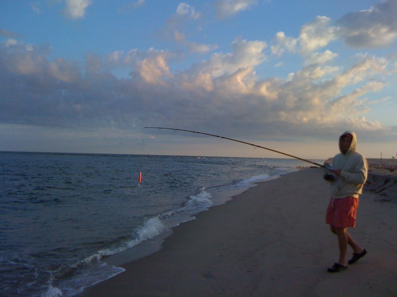 Ted Fishing