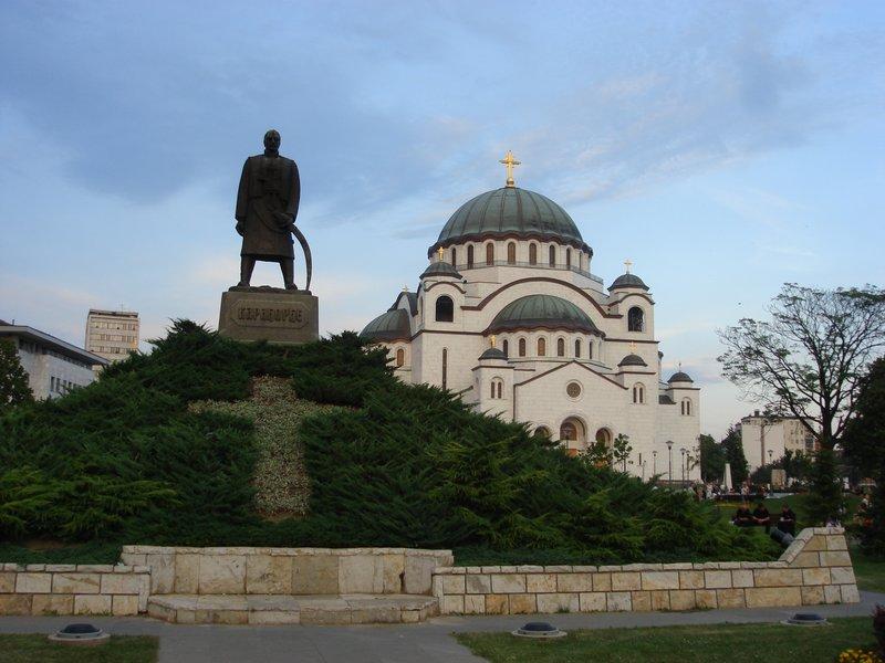 The Church of St Sava in Belgrade