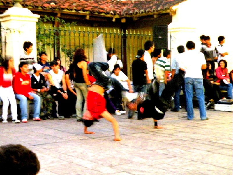 Salta Break dancing