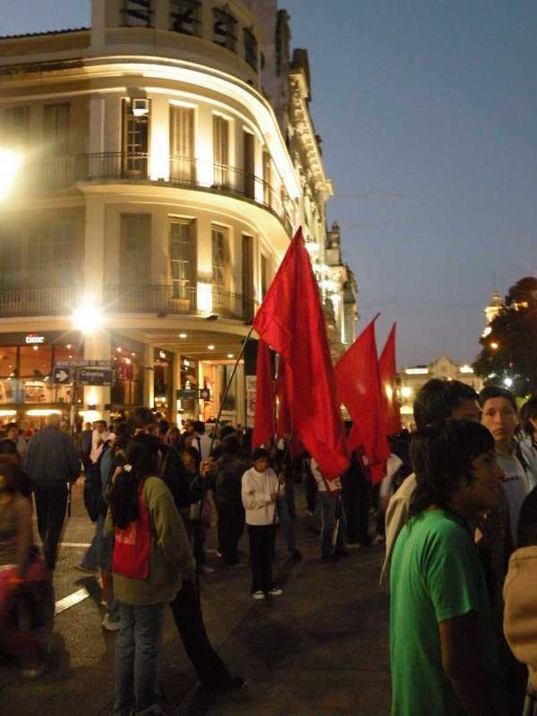 Salta protest