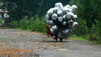 A normal load for a motorbike (Chidambaram)