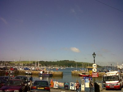 Falmouth harbour.