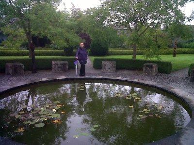 The gardens of Butler House.
