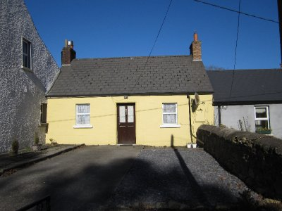 A humble cottage in Borris
