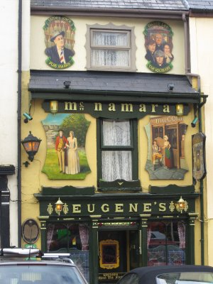 A quaint-looking pub in Ennistymon
