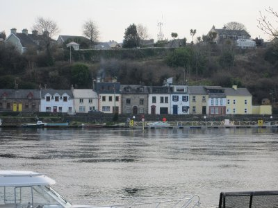 Houses across the river at Killaloe