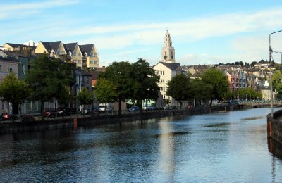 The river Lee looking towards Shandon