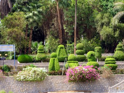 Kitchener's Island where he created formal botanical gardens.