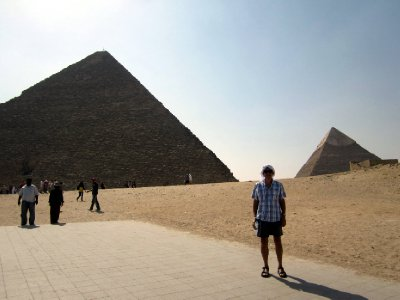 The great pyramid of Khufu (Cheops), the only remaining Wonder of the Ancient World.
