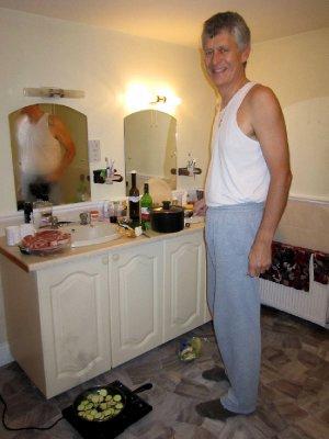 Bathroom chef!