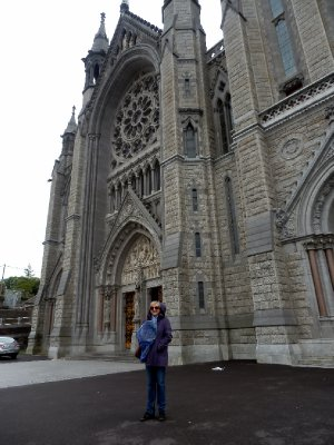 Sandi joined David after 2 weeks and we decided to revisit the beautiful cathedral in Cobh.