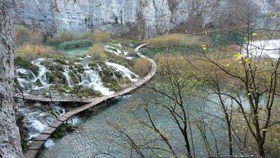 Plitvička Jezera - View a bit higher up