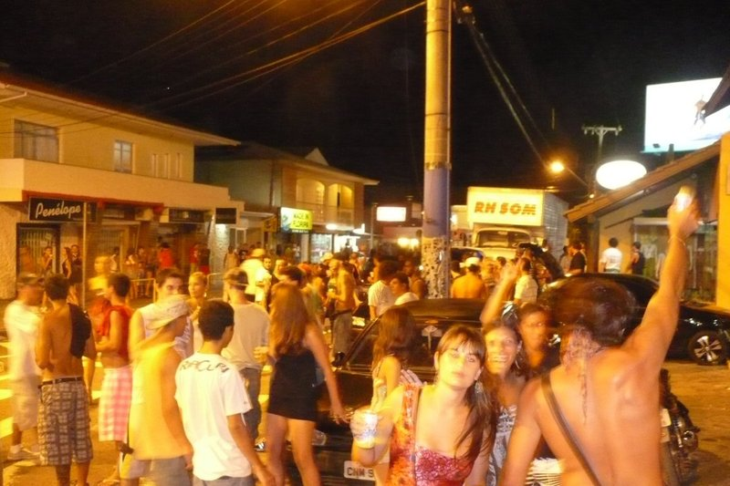 Party in the street at 4am