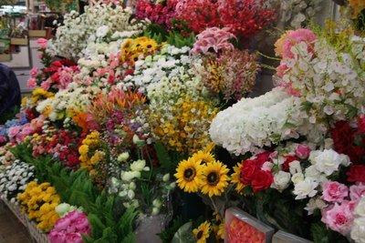 Fake Flowers @ Warorot Market